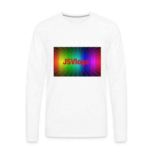 JSVlogs Channel Art - Men's Premium Long Sleeve T-Shirt