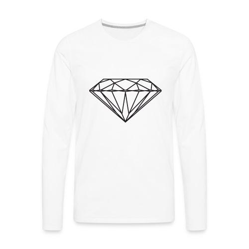 Diamond - Men's Premium Long Sleeve T-Shirt