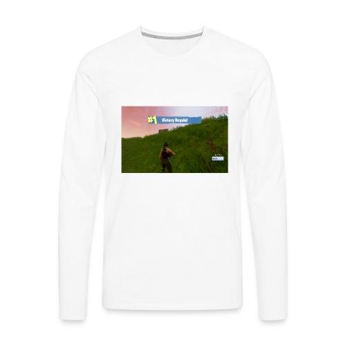 Fortnite dubs - Men's Premium Long Sleeve T-Shirt