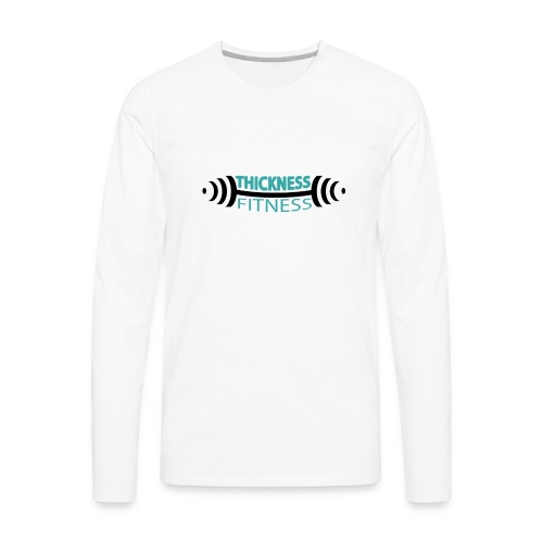 TF Teal and Black - Men's Premium Long Sleeve T-Shirt