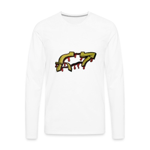 ST graffiti - Men's Premium Long Sleeve T-Shirt