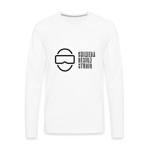 Chimera Design Studio dark logo - Men's Premium Long Sleeve T-Shirt