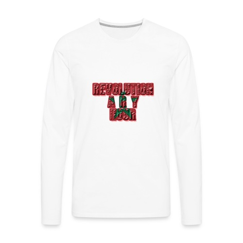 Revolutionary Hour - Men's Premium Long Sleeve T-Shirt