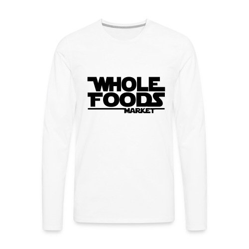 WHOLE_FOODS_STAR_WARS - Men's Premium Long Sleeve T-Shirt