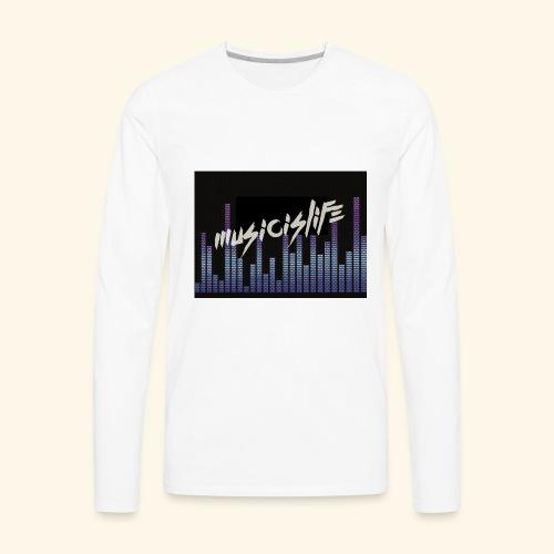 860AF9AC 8366 431C B846 C617A9968B99 - Men's Premium Long Sleeve T-Shirt