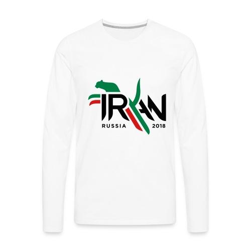 Pouncing Cheetah - Men's Premium Long Sleeve T-Shirt