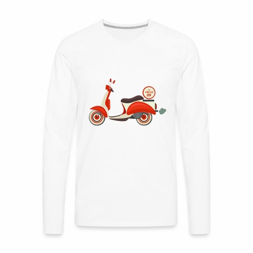 Scooter Vintage - Men's Premium Long Sleeve T-Shirt