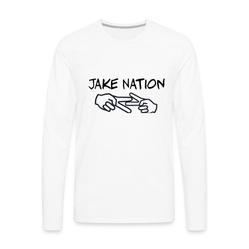 Jake nation phone cases - Men's Premium Long Sleeve T-Shirt