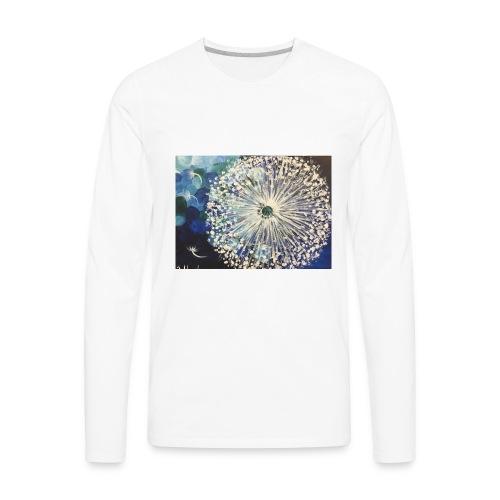 Dandelion Flower - Men's Premium Long Sleeve T-Shirt