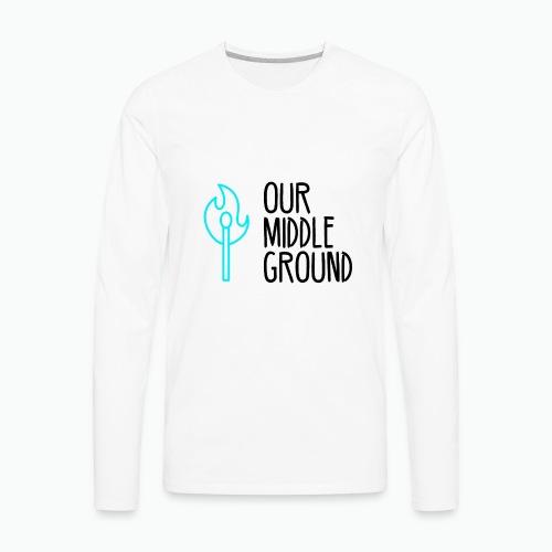 Traditional Logo - Men's Premium Long Sleeve T-Shirt
