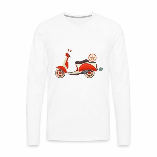 Scooter Vintage - Men's Premium Long Sleeve T-Shirt
