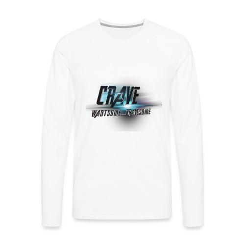NEW_LOGO_CRAVE - Men's Premium Long Sleeve T-Shirt