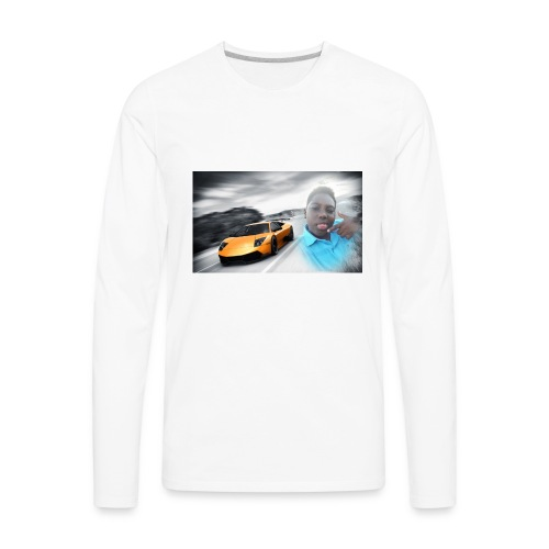 Hozayfa vlogs merch - Men's Premium Long Sleeve T-Shirt