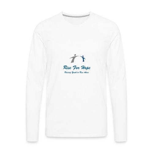 Rise for Hope - Men's Premium Long Sleeve T-Shirt