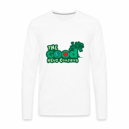 The GOOD News logo - Men's Premium Long Sleeve T-Shirt