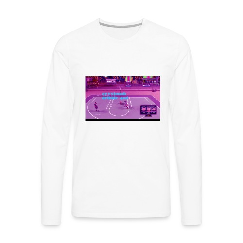 old channel thumbnail on anything - Men's Premium Long Sleeve T-Shirt