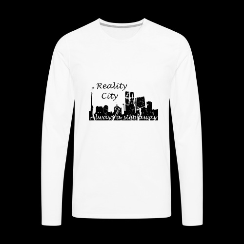 Reality City - light - Men's Premium Long Sleeve T-Shirt