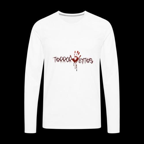Terror-Bytes Blood Hand - Men's Premium Long Sleeve T-Shirt