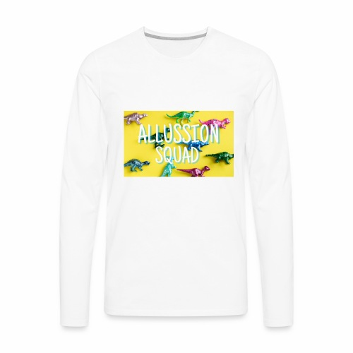 Dino Alussion Squad LIMITED - Men's Premium Long Sleeve T-Shirt
