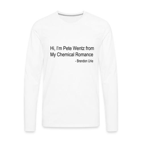 The Trinity - Men's Premium Long Sleeve T-Shirt