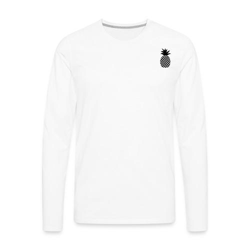 Tropical Pineapple - Men's Premium Long Sleeve T-Shirt