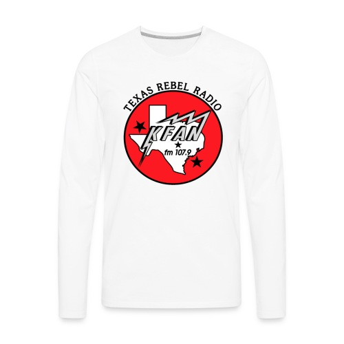 KFAN Logo T-Shirt - Men's Premium Long Sleeve T-Shirt