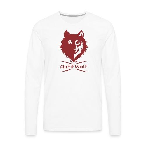 Aktifwolf Sports - Men's Premium Long Sleeve T-Shirt