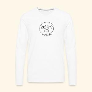 Mr. Jones T-shirt - Men's Premium Long Sleeve T-Shirt