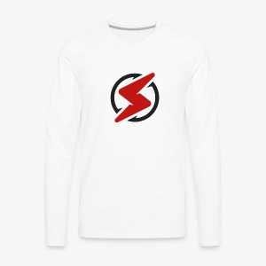 Red and black - Men's Premium Long Sleeve T-Shirt