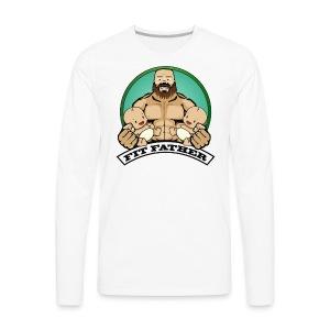 Fit Father - Men's Premium Long Sleeve T-Shirt