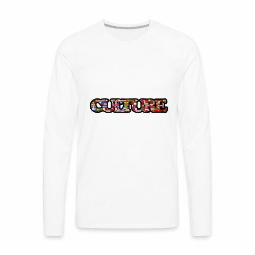 culture - Men's Premium Long Sleeve T-Shirt