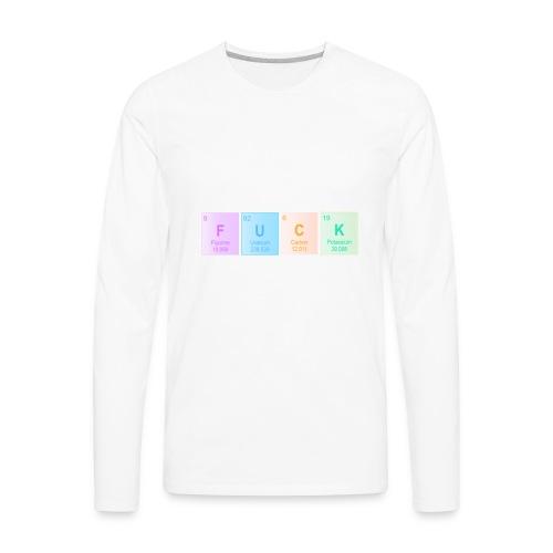 FUCK - Men's Premium Long Sleeve T-Shirt