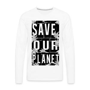 SaveOurPlanet - Men's Premium Long Sleeve T-Shirt