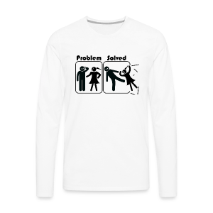 Problem Solving - Men's Premium Long Sleeve T-Shirt
