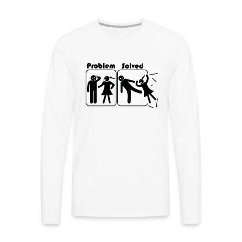 Problem Solving - Men's Premium Long Sleeve T-Shirt