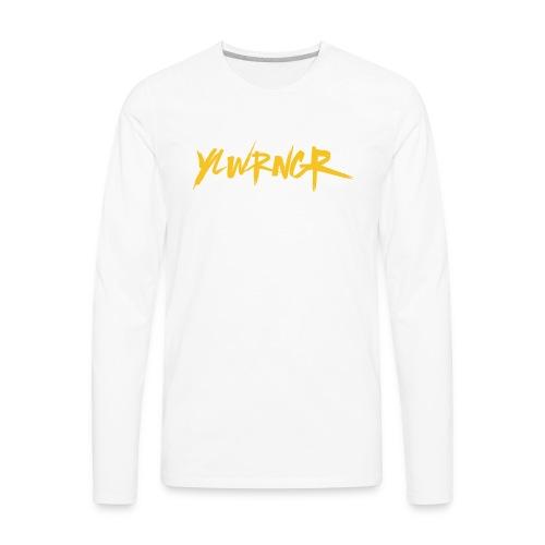 YLWRNGR Logo - Men's Premium Long Sleeve T-Shirt