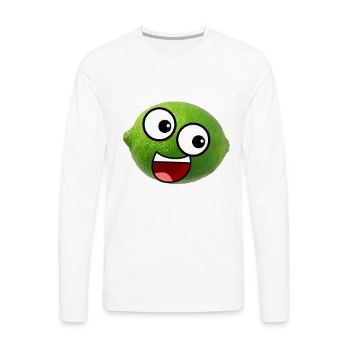 Limellop's Logo - Men's Premium Long Sleeve T-Shirt