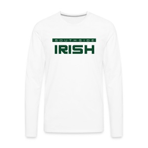 Southside Irish green - One Bar - Men's Premium Long Sleeve T-Shirt