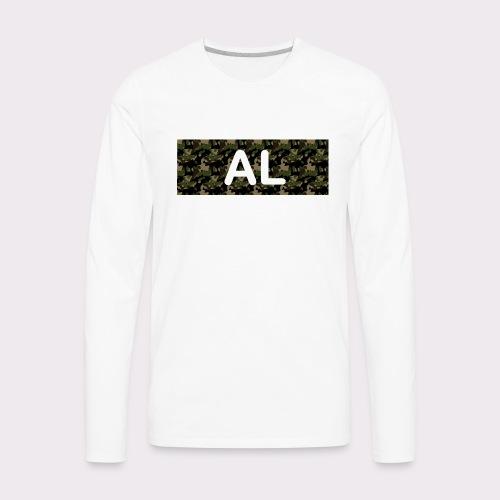 camo al - Men's Premium Long Sleeve T-Shirt
