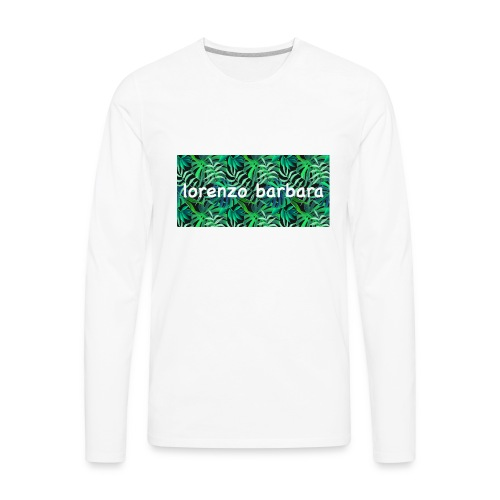 Classic Vine Design - Men's Premium Long Sleeve T-Shirt