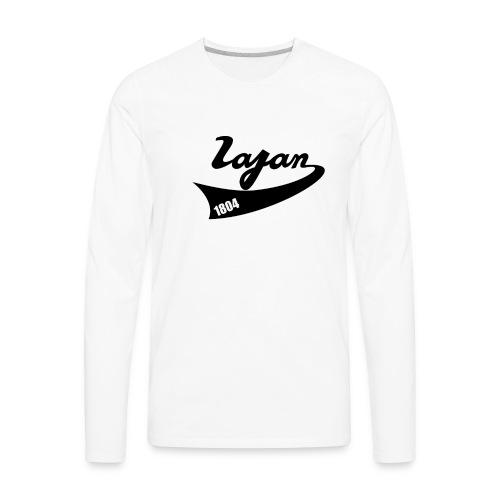 lagan base ball - Men's Premium Long Sleeve T-Shirt