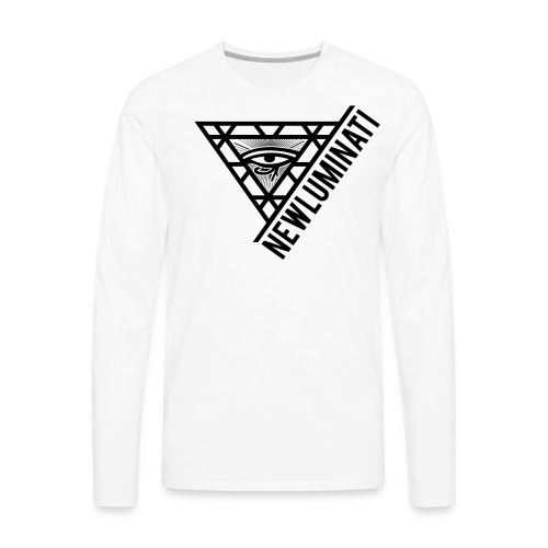 newluminati graphic - Men's Premium Long Sleeve T-Shirt