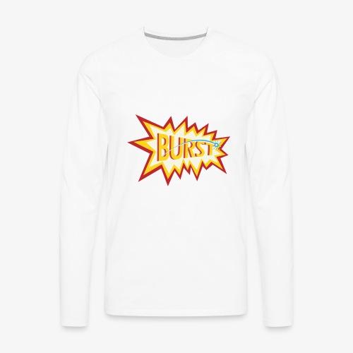 burst logo - Men's Premium Long Sleeve T-Shirt