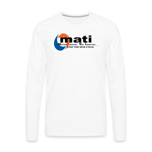 Mothers against tide pods! - Men's Premium Long Sleeve T-Shirt