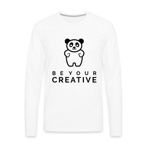 BeYourCreative BLK - Men's Premium Long Sleeve T-Shirt