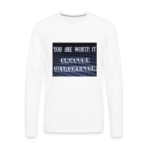 you are worth it - Men's Premium Long Sleeve T-Shirt