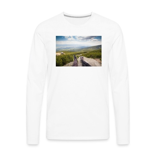 Outdoorsy Life - Men's Premium Long Sleeve T-Shirt