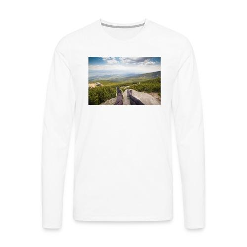 Outdoorsy Life - Men's Premium Long Sleeve T-Shirt