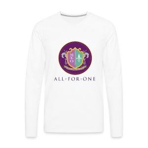All For One Logo - Men's Premium Long Sleeve T-Shirt