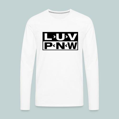 sub pnw - Men's Premium Long Sleeve T-Shirt